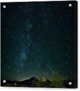 Desert Night Skies  Acrylic Print