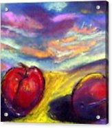Desert Plum Acrylic Print