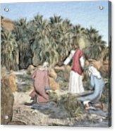 Desert Jesus Acrylic Print