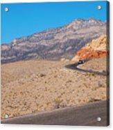 Desert Road Acrylic Print