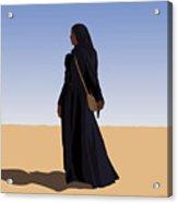 Desert Sand Acrylic Print