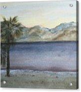 Desert Sea Acrylic Print