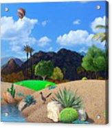 Desert Splendor Acrylic Print