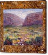 Desert Spring Acrylic Print