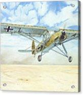 Desert Storch Acrylic Print