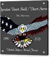 Desert Storm 25th Anniversary Acrylic Print