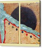 Desert Sun I Acrylic Print