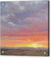 Desert Sundown Acrylic Print