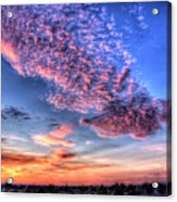 Desert Sunset 2 Acrylic Print