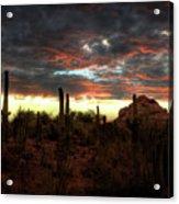 Desert Sunset  Acrylic Print