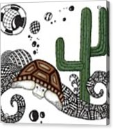 The Desert Tortoise Acrylic Print