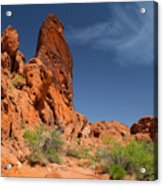 Desert Tower Valley Of Fire Acrylic Print