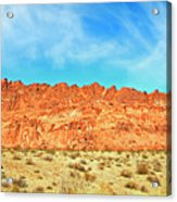 Desert Valley Of Fire Acrylic Print