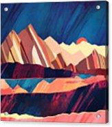 Desert Valley Acrylic Print