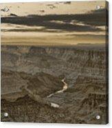 Desert View II - Anselized Acrylic Print