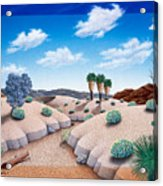Desert Vista 2 Acrylic Print by Snake Jagger