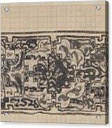 Design For A Binding For Charivaria, Carel Adolph Lion Cachet, 1874 - 1945 Acrylic Print