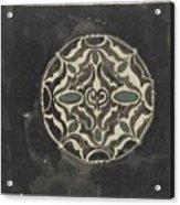 Design For A Brooch , Carel Adolph Lion Cachet, 1874 - 1945 Acrylic Print