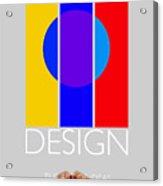 Design Poster Acrylic Print