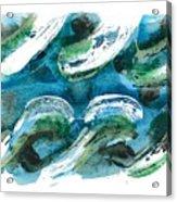 Design Waves Acrylic Print