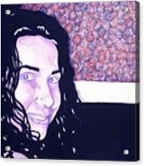 Desiree Acrylic Print by Jason Charles Allen