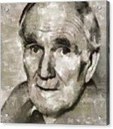 Desmond Llewelyn, Actor Acrylic Print