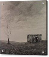 Desolate Bathtub Acrylic Print