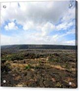 Desolate Lava Field Acrylic Print