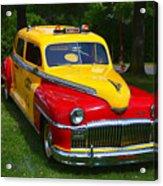 Desoto Skyview Taxi Acrylic Print