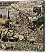 Destiny - Us Army Infantry Acrylic Print