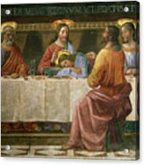 Detail From The Last Supper Acrylic Print by Domenico Ghirlandaio