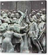 Detail From The Reformation Monument In Copenhagen Acrylic Print