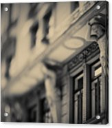 Detail Of Building Front Acrylic Print
