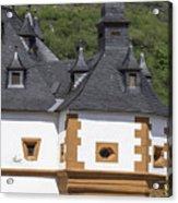 Detail Of Burg Pfalzgrafenstein Acrylic Print