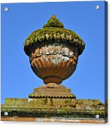 Detail Of Funerary Urn. Acrylic Print