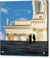 Detail Of Helsinki Cathedral Acrylic Print