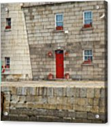 Detail Of Howth Lighthouse Acrylic Print