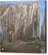 Detail Of Landscape 1/3 Acrylic Print