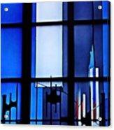 Detail Of Modern Johannes Schreiter Window Mainz 2 Acrylic Print