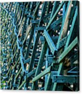 Detail View Of The Kinsol Trestle Acrylic Print