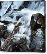 Detail Wild Stream Acrylic Print