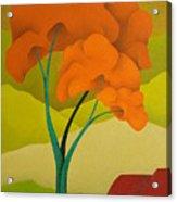 Detailed  Landscape 2009 Acrylic Print
