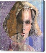 Determination Acrylic Print