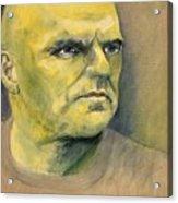 Determination / Portrait Acrylic Print