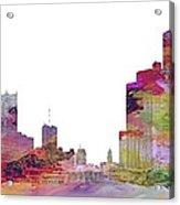 Detroit Colors Acrylic Print