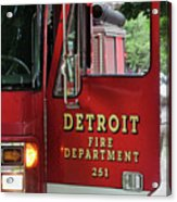 Detroit Fire Department Acrylic Print
