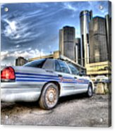 Detroit Police Acrylic Print