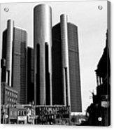 Detroit Rc From Congress Acrylic Print