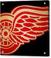 Detroit Red Wings - Scrolled Acrylic Print