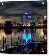 Detroit Reflections Acrylic Print